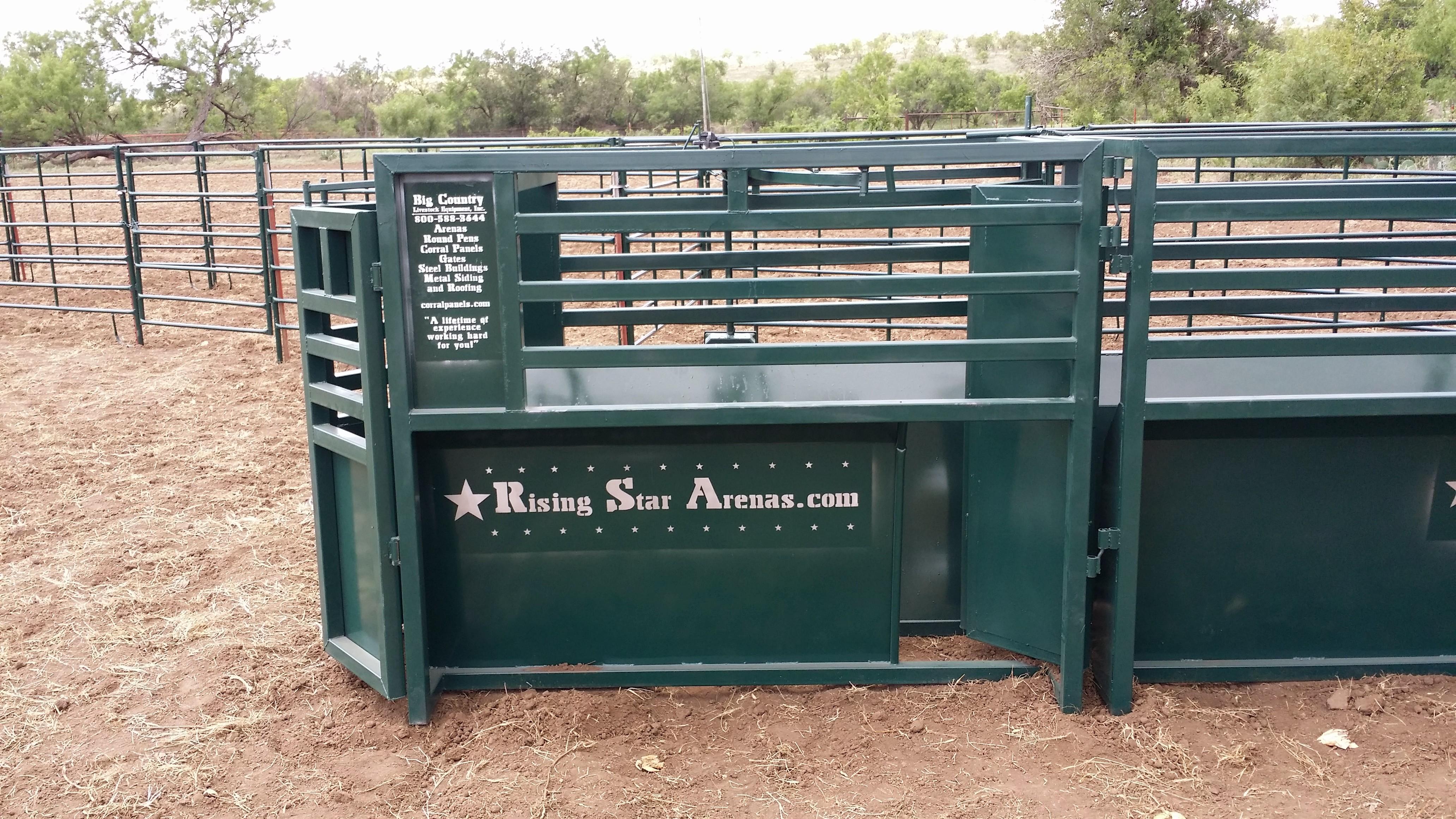 Big Country Livestock Equipment Roping Chute